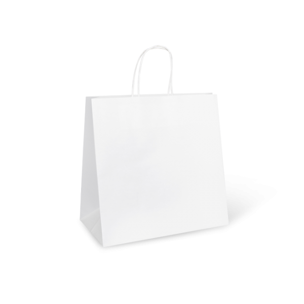 White Paper Takeaway Food Bags