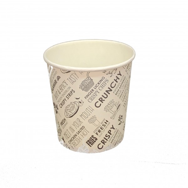Printed Paper Hot Chip Cups
