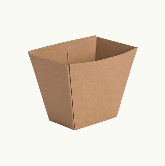 Kraft Cardboard Chip Boxes