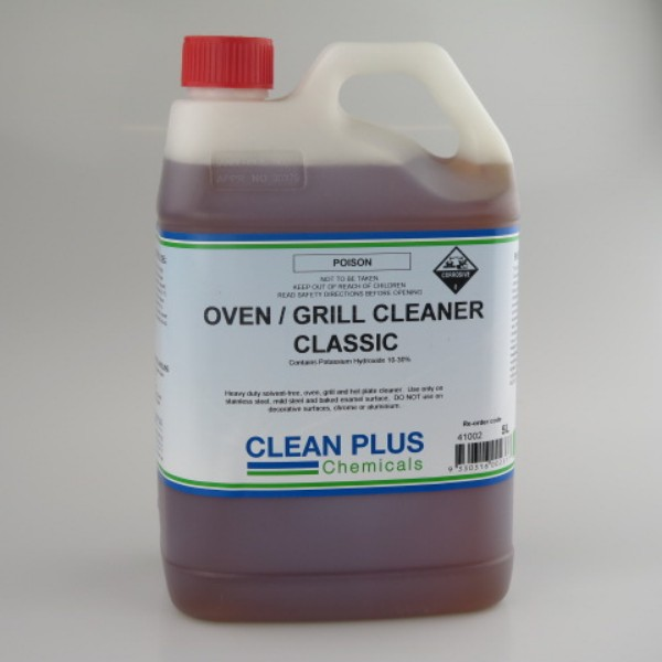 Caustic Based Oven and Grill Cleaner