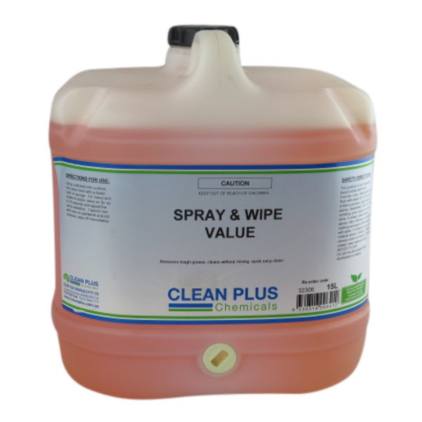 Spray and wipe concentrate Clean Plus Economical Detergents