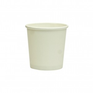 94mm White Paper Ice Cream And Soup Cup Lids Wholesale