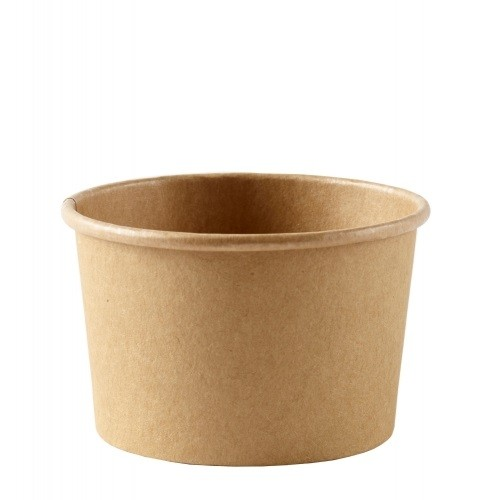 Kraft Paper Soup and Icecream Containers