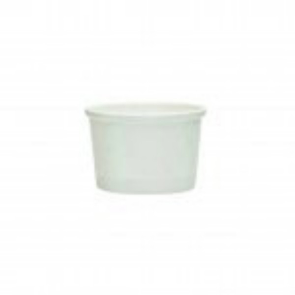 White Paper Icecream or Soup Tubs