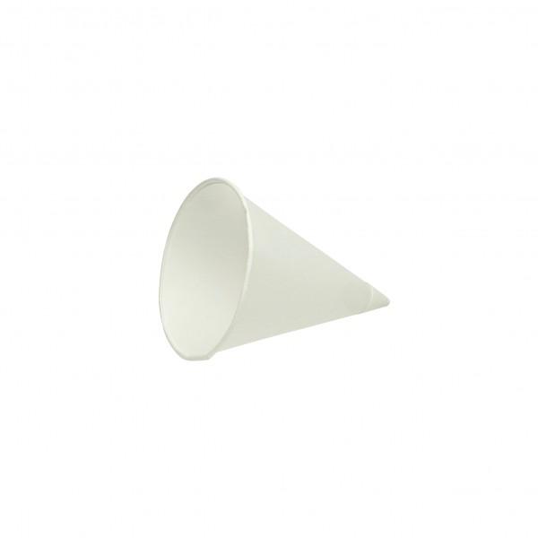 white Paper Cones