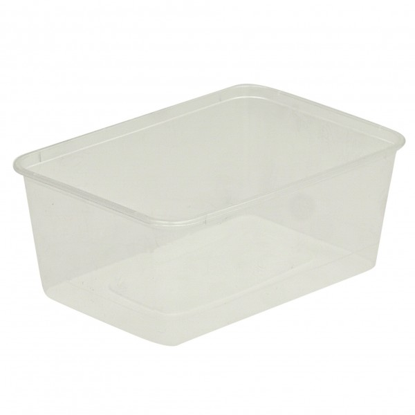 Freezer Grade Plastic Oblong Containers