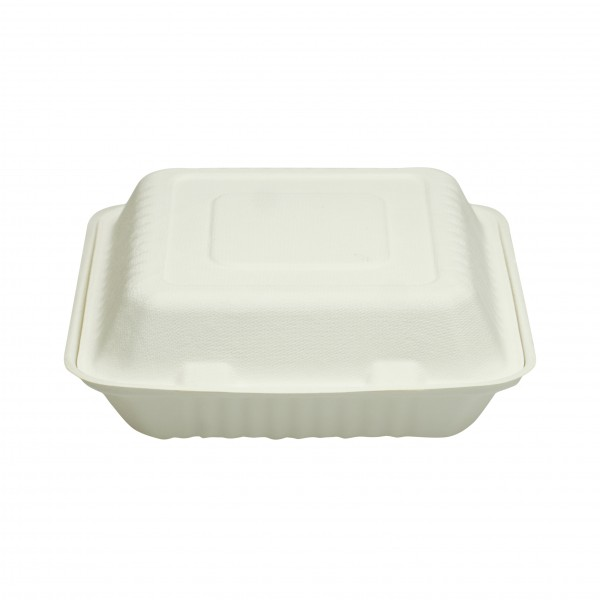 White Biodegradable CardBoard Dinner Boxes
