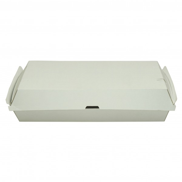 White Corrugated Cardboard Family Dinner Boxes
