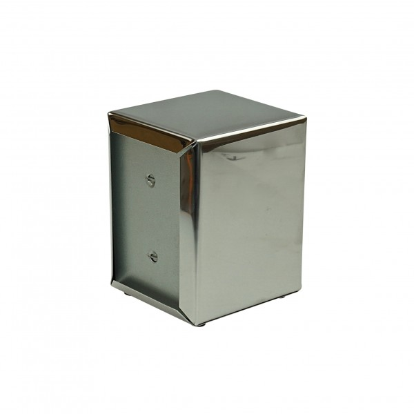 Silver Stainless Steel Napkin Dispenser