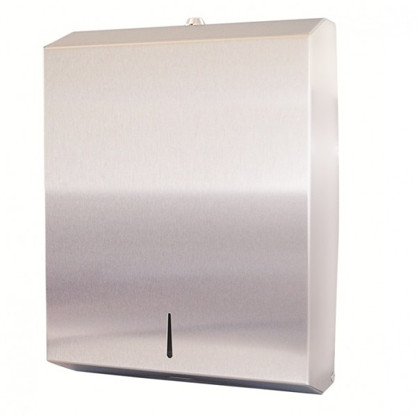 Silver Stainless Steel Dispenser
