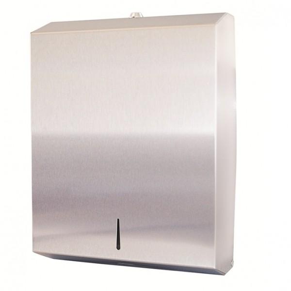 Silver Stainless Steel Dispenser For SLIMDELUXE