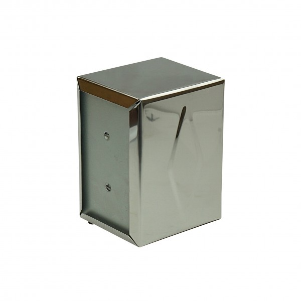Silver Stainless Steel Napkin Dispensers