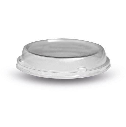 Clear Compostable plastic Salad Container lids