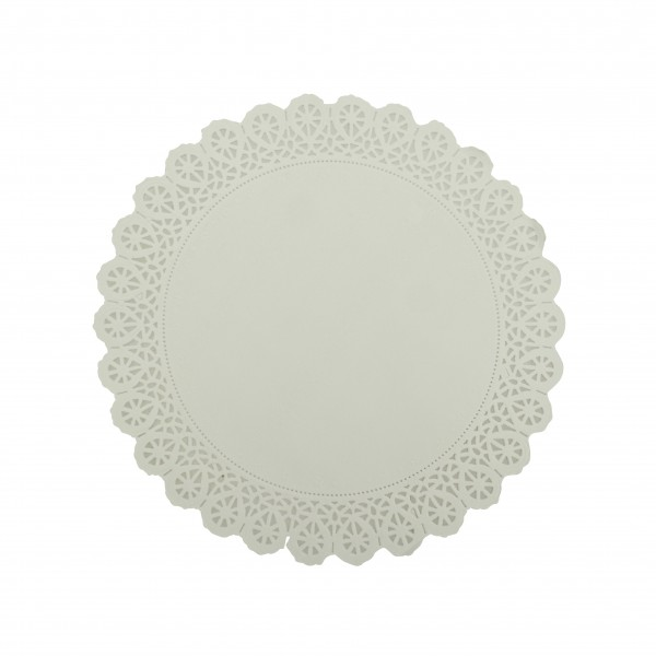 White Paper Lace Round Doilies