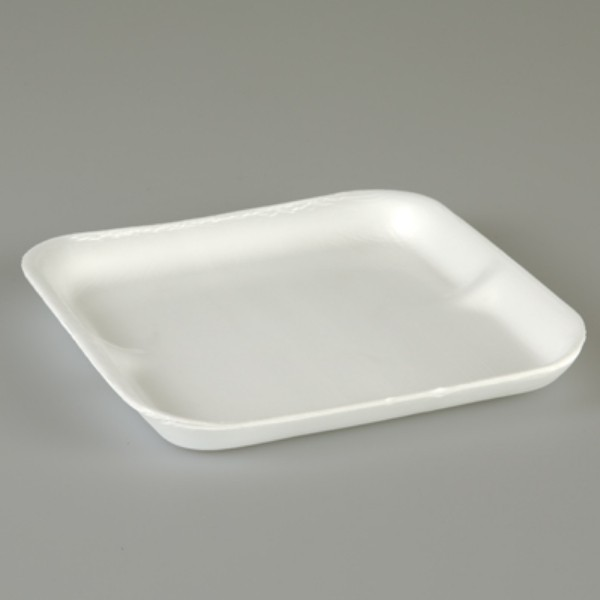 White Foam Food Trays