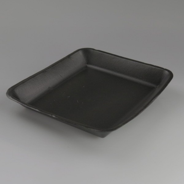 Black Foam Food Trays
