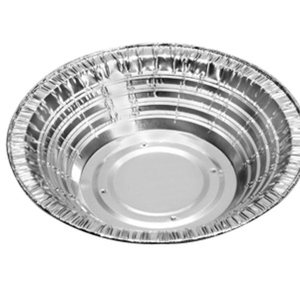 Silver Perforated Foil Round Pie Tins