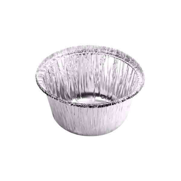 Silver Aluminium Foil Pudding Bowls