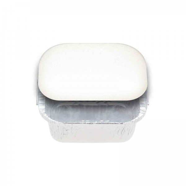 White Card Paper Lids To Fit FOIL7114A