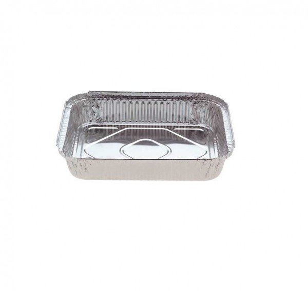 Silver Aluminium Foil Oblong Dishes