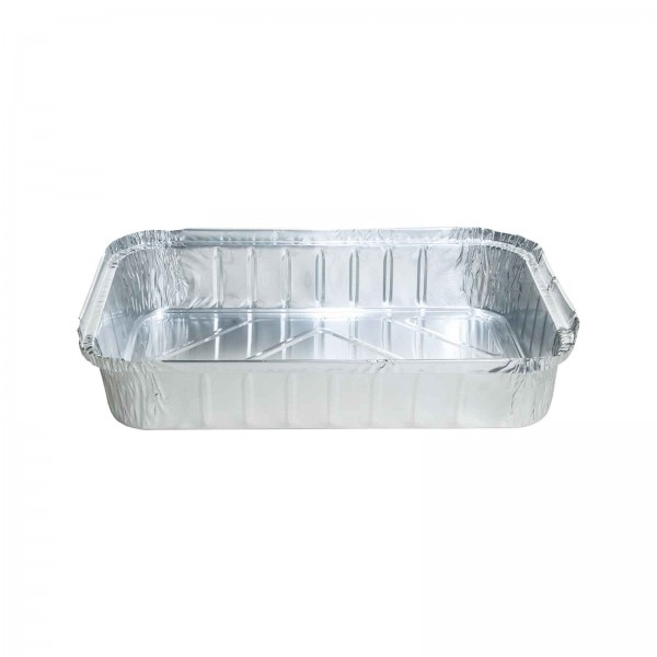 Silver Aluminium Foil Takeaway Trays
