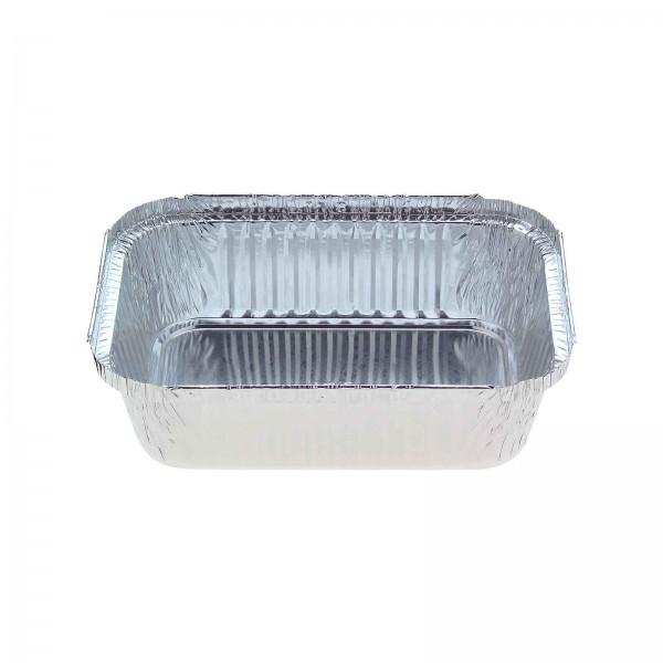 Silver Aluminium Foil Square Takeaway Trays