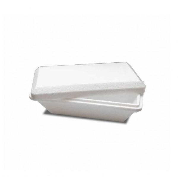 White Insulated Polystyrene Gelato Tubs