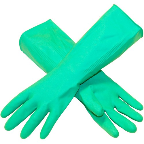 Green Nitrile Extra Large Gloves