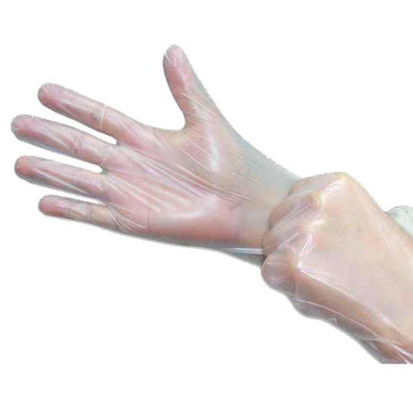 Clear ThermoPlastic Elastomer (TPE) Gloves