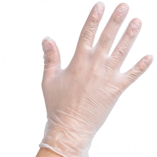 Clear Vinyl Powder-free Gloves