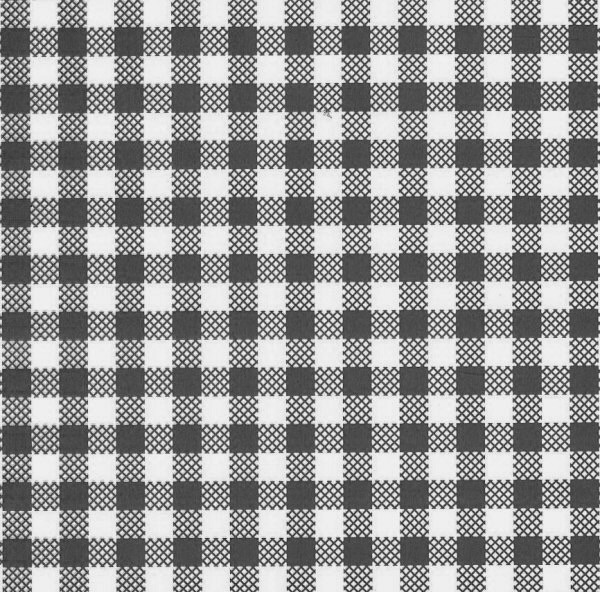 Black Checker Greaseproof Paper