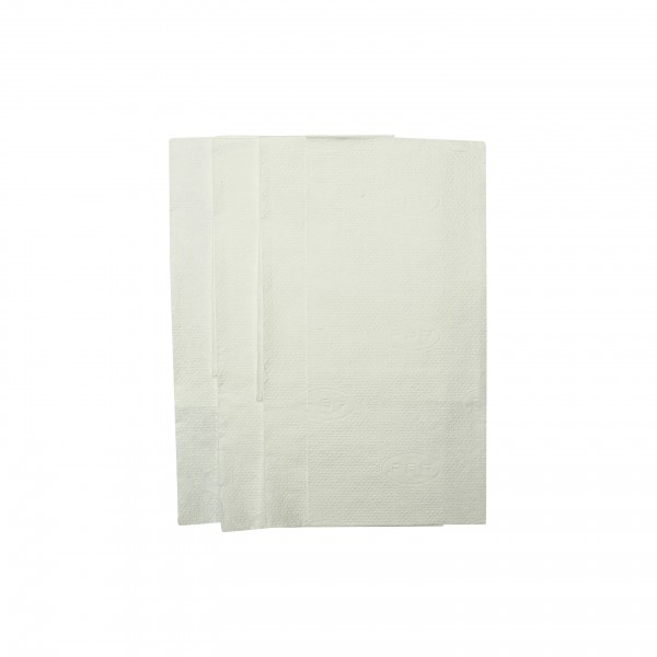 White Tall Fold Dispenser Napkins