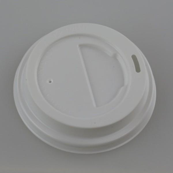White Plastic Travel Lids