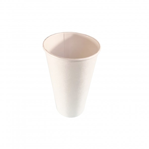 Compostable PLA White Coffee Cups