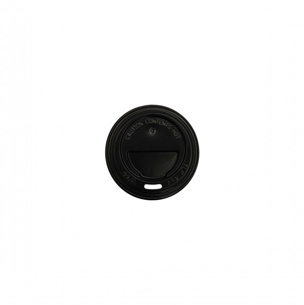 Black Plastic Travel lids