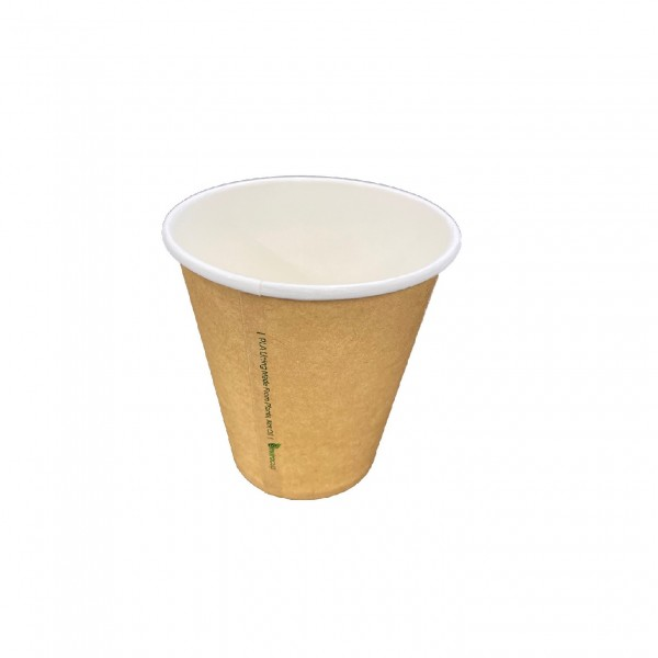 Natural Paper Single Wall Cups