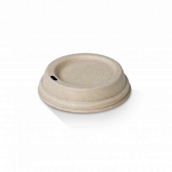 Kraft Paper Lid for: 8oz & 12oz Coffee cups