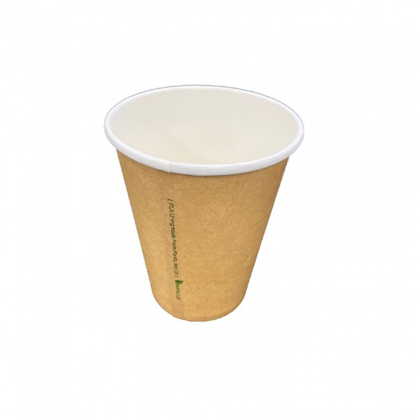 Natural Single Wall Paper Coffee Cups