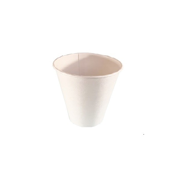 White Single Wall Paper Coffee Cups