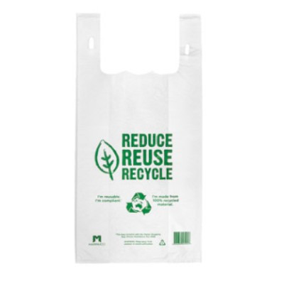 Clear Plastic Re-usable Carry Bags