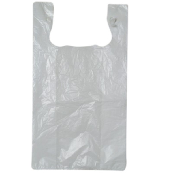 White Extra Large Plastic Singlet Bags