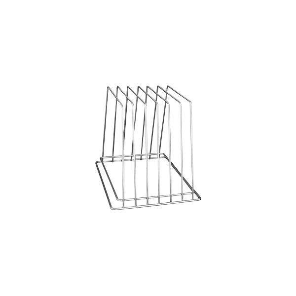 Silver Stainless Steel Cutting Board Rack