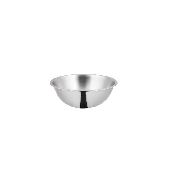 Silver Stainless Steel Mixing Bowl