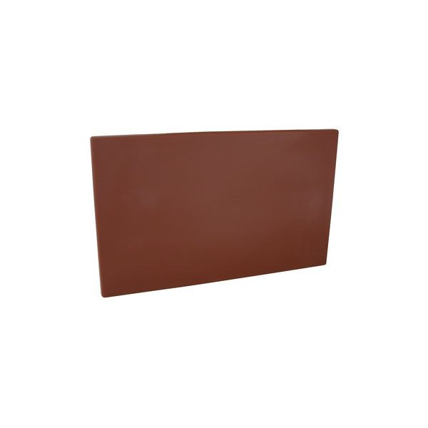 Brown HD PE Plastic Chopping Board