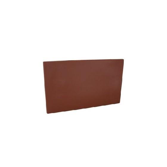Brown HD PE Plastic Chopping Board