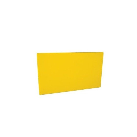 Yellow HD PE Plastic Chopping Board