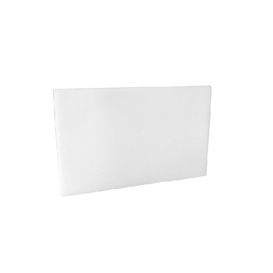 White HD PE Plastic Chopping Board