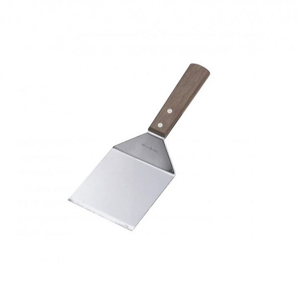 Stainless Steel Wooden Handle Griddle Scraper
