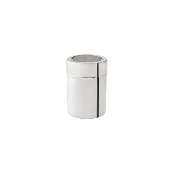 Silver Stainless Steel Sugar and Chocolate Shaker