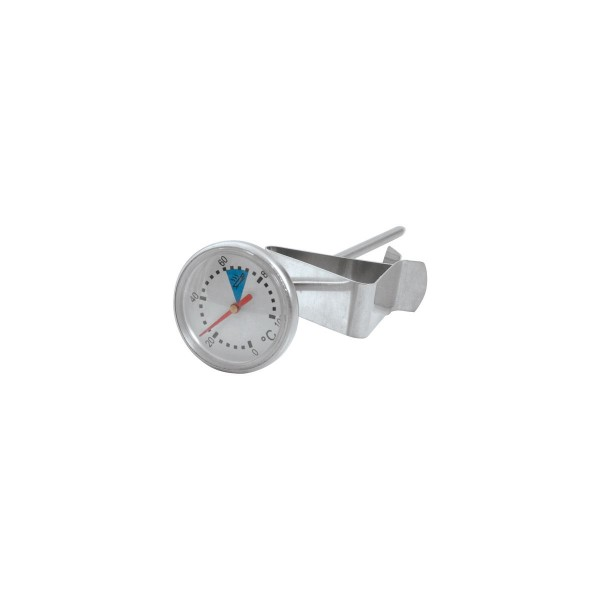 Silver Stainless Steel Coffee Milk Thermometer